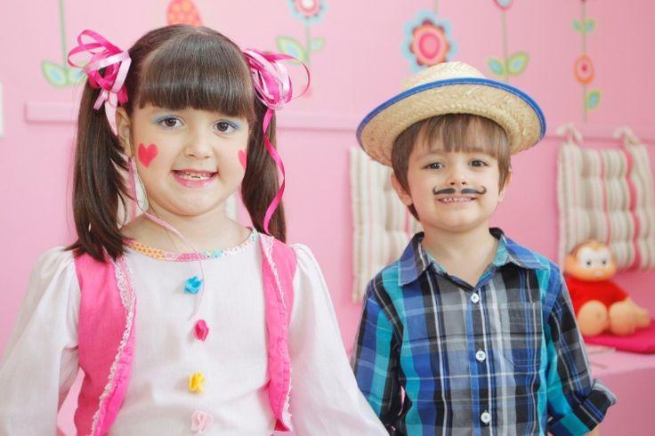 Caipira descolado: aprenda maquiar meninas e meninos para as festas juninas - Gravidez e Filhos - UOL Mulher