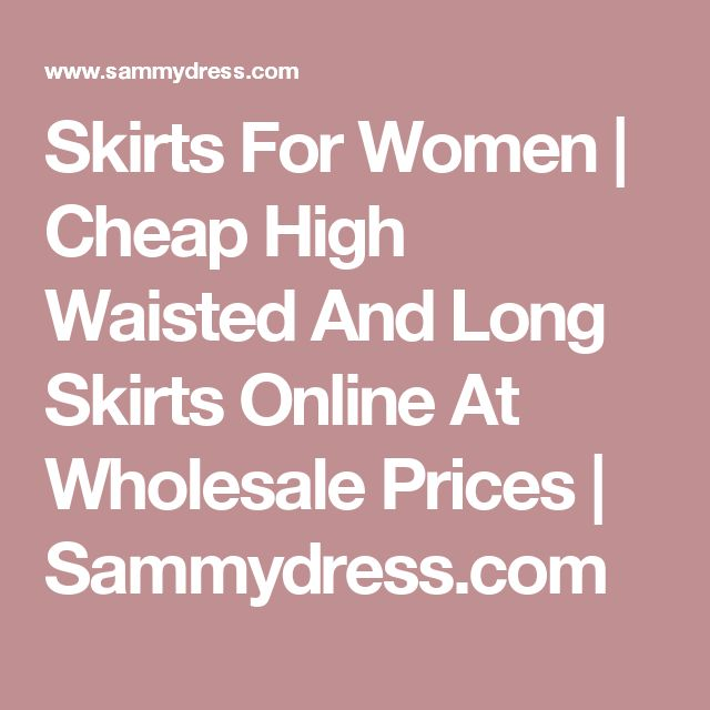 Skirts For Women   Cheap High Waisted And Long Skirts Online At Wholesale Prices   Sammydress.com