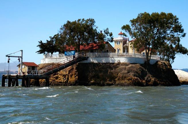 East Brother Light Station -  Picturesque Lighthouse Hotels Around the World | Fodor's Travel