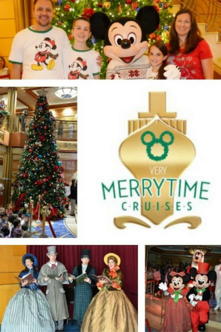 Disney's Very MerryTime Cruise | Christmastime on a Ship via @disneyinsider