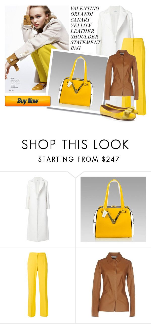 """SHOP - DESIGNER ITALIAN BAGS"" by designeritalianbags ❤ liked on Polyvore featuring Oscar de la Renta, N°21, Christian Dior and Salvatore Ferragamo"