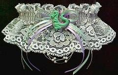 FANTASY DRAGON Garter for Prom or just for fun. #Dragon #FantasyDragon - Visit: www.garters.com/page81.htm