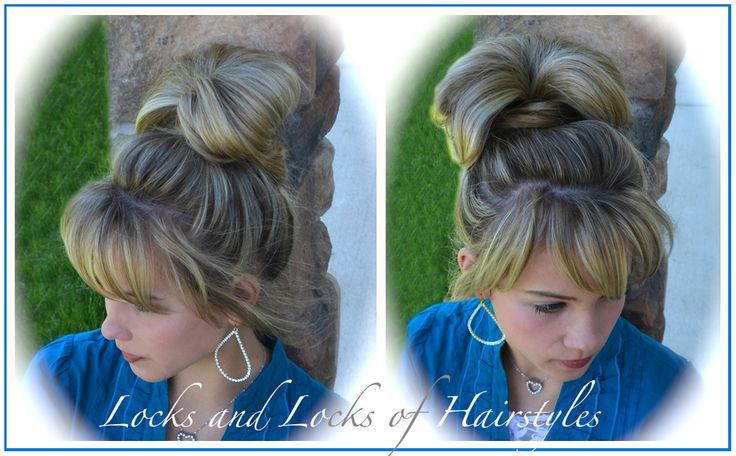 Hairstyles With Donut Bun: 1000+ Ideas About Donut Bun On Pinterest