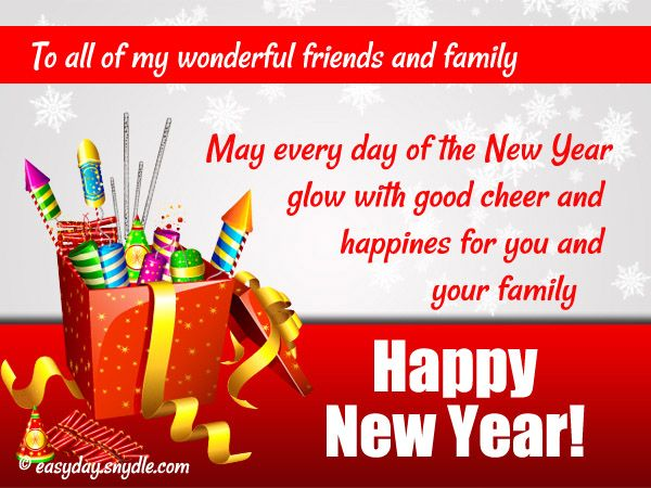 New Year Greetings Wishes and New Year Messages 2016 | Easyday