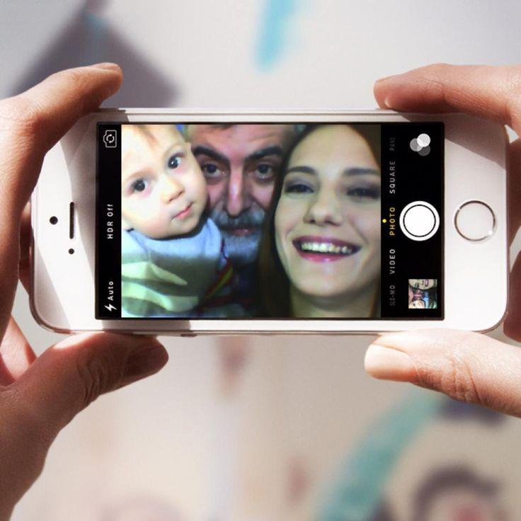 Aşk Yeniden'in en küçük oyuncusu Selim'in ilk Selfie'si! #AşkYeniden