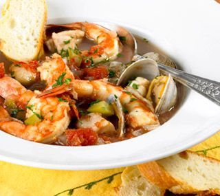 Thrifty Foods - Recipe - Slow Cooker Italian-style Seafood Stew