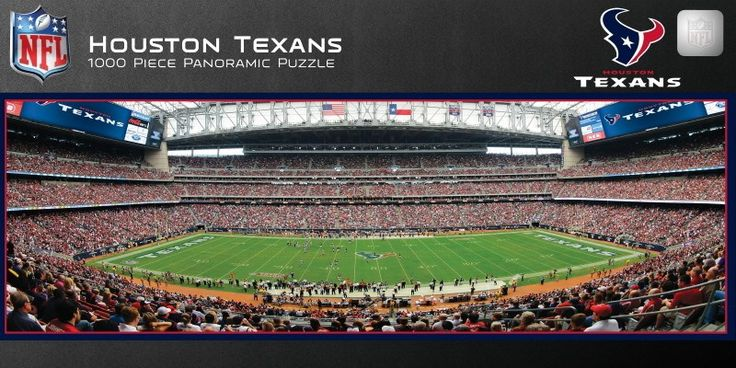 NFL Houston Texans - 1000 Piece Jigsaw Puzzle