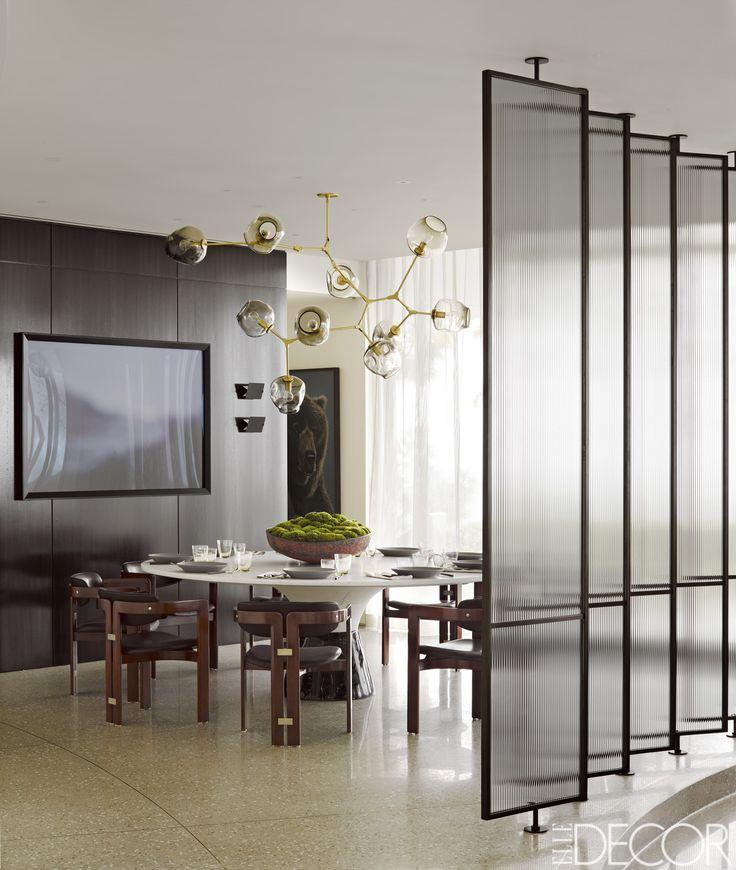 HOUSE TOUR: A Modernized Midcentury Home In Beverly Hills. Room Interior Modern InteriorInterior DesignGlass ...