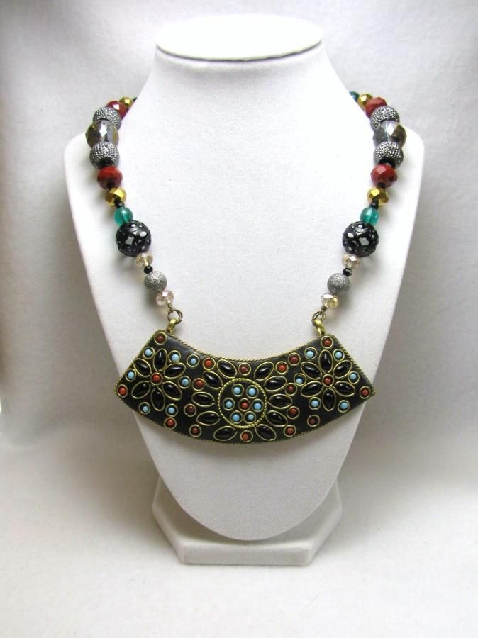 Egyptian Romance - Jewelry creation by Linda Foust