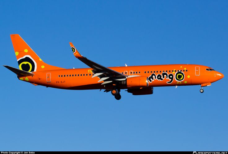 ZS-SJT Mango Boeing 737-844(WL)