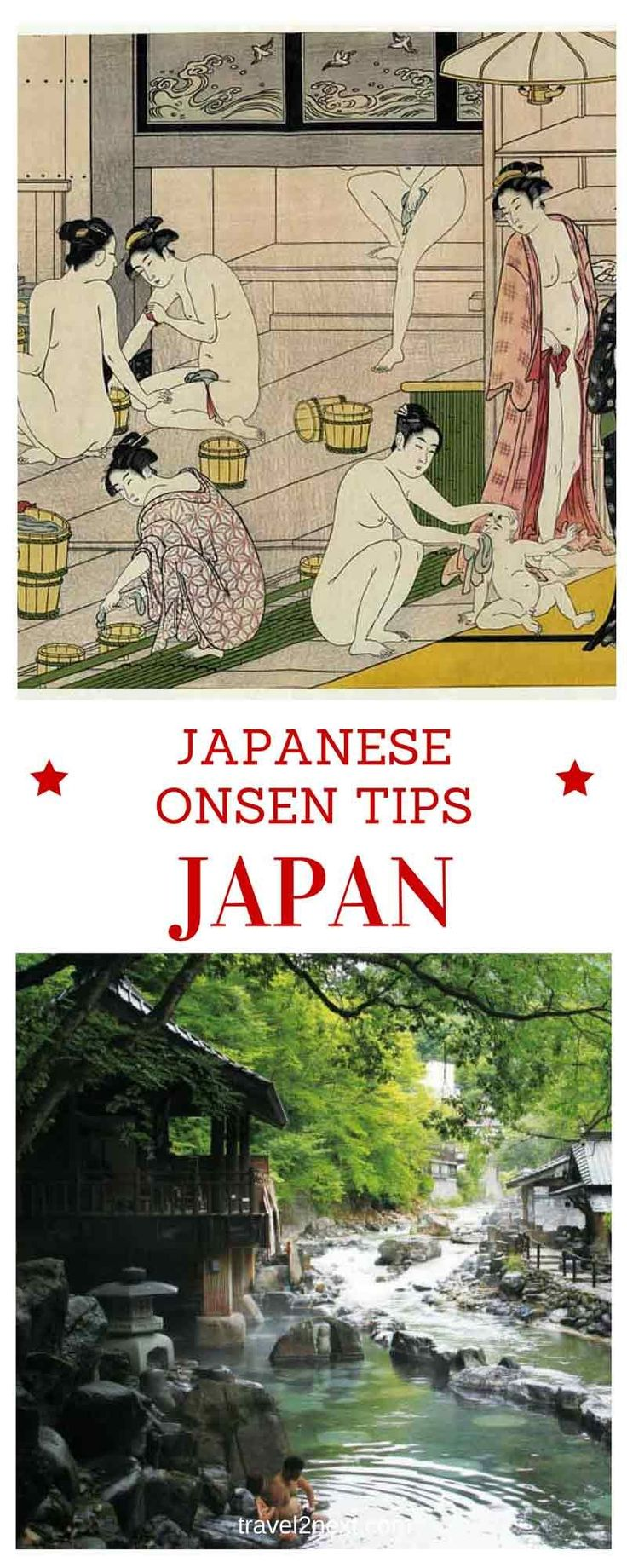 Japanese Onsen Tips for A Japanese Public Bath Experience. One of the best things to do while in Japan is to visit an onsen.