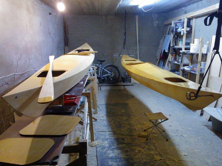 Смола, фанера, стеклоткань... Постройка каяка по мотивам Shearwater Sport - Техотдел - Морской каяк