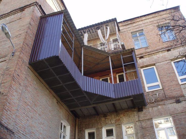 Шедевры балконостроения - МирТесен