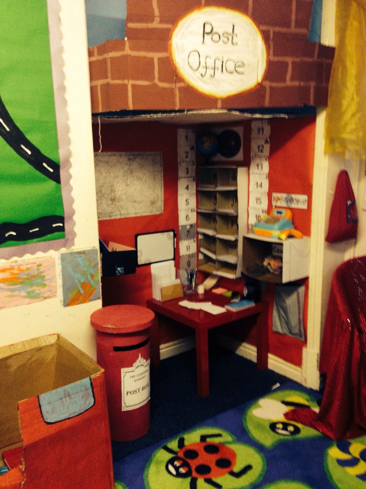 Post office role play area