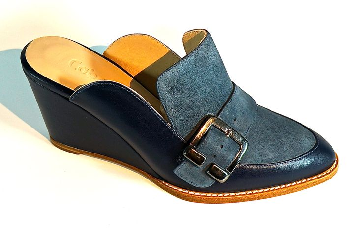 Hand Made Leather Footwear. Lamb's Leather with Buff. LM-004C
