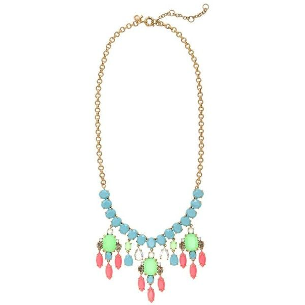 J.Crew Color collage necklace ($100) ❤ liked on Polyvore featuring jewelry, necklaces, accessories, j.crew, j crew jewelry, adjustable necklace, j.crew necklace, j crew jewellery and neon jewelry