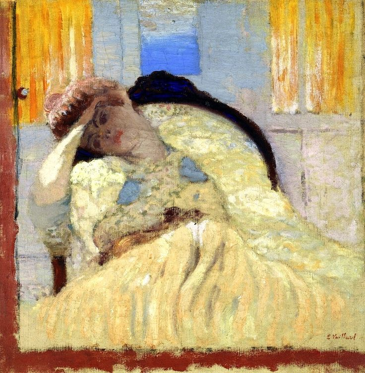 bofransson:  Misia Seated in an Armchair, Affecting Nonchalance Edouard Vuillard (1901)