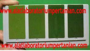 Alat Laboratorium Pertanian | Alat Laboratorium Teknologi Benih dan Biji : Bagan Warna Daun - Padi