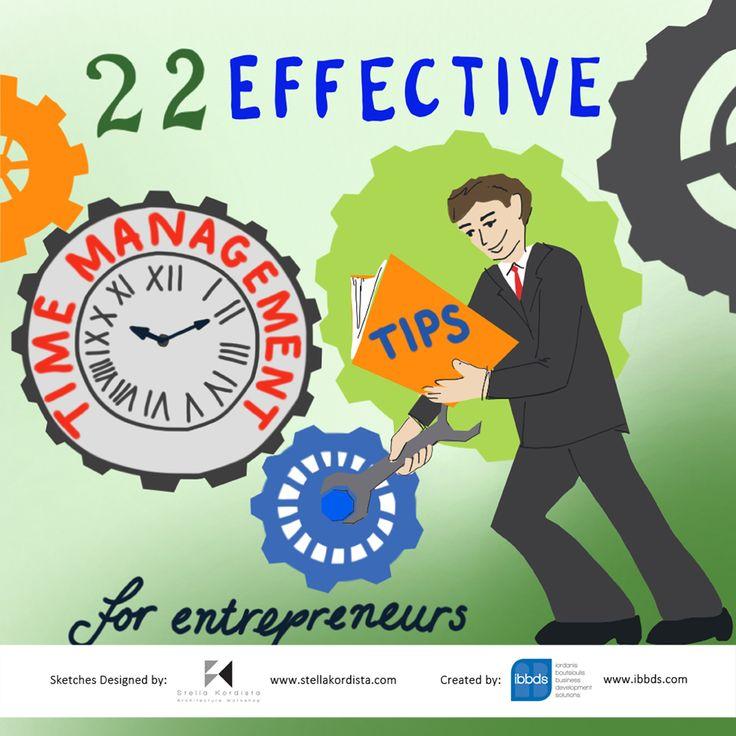 22 Effective Time Mnagement Tips For Entrepreneurs