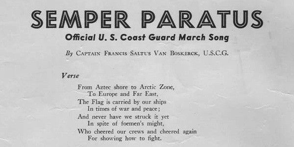 Semper Paratus lyrics - Official Coast Guard song