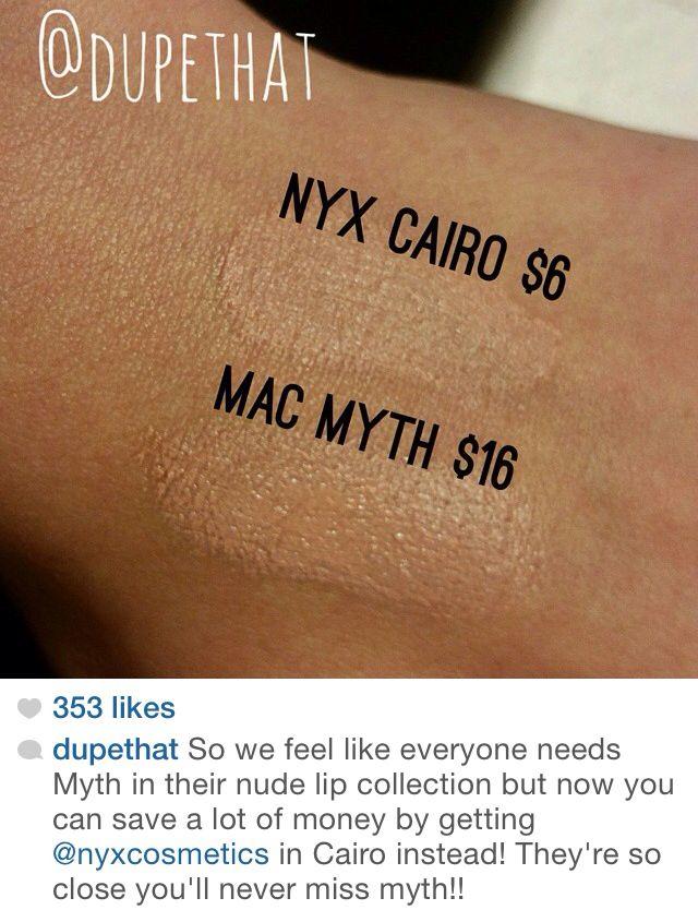 Mac Myth // NYX Cairo  Mac Myth Dupe