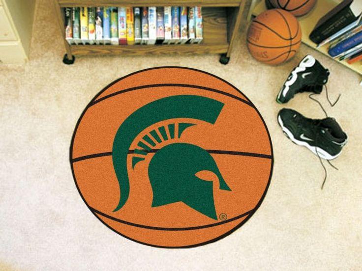 Michigan State University Basketball Mat
