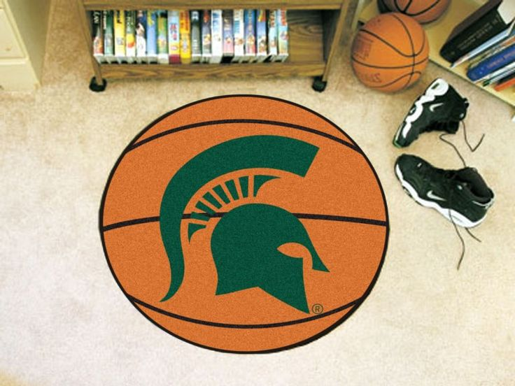 Michigan State University Basketball Mat