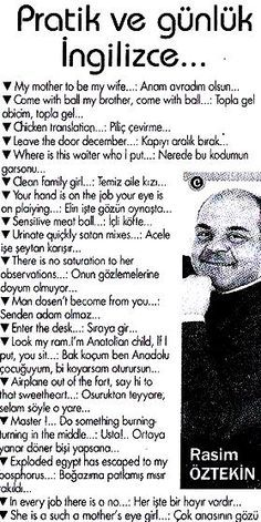 Only Turks will understand hahaha. That is what happens when a Turk tries to speak in English, lol.