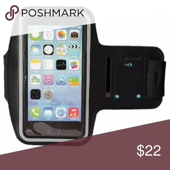 iPhone 6 armband for running Armband fits iPhone 6 or 6s! New!! Slot for key and Velcro's closed for any fit!! Perfect for runs or when you don't want to carry your phone keys or money! Accessories Phone Cases