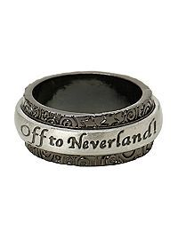 HOTTOPIC.COM - Disney Peter Pan Off To Neverland Spinner Ring