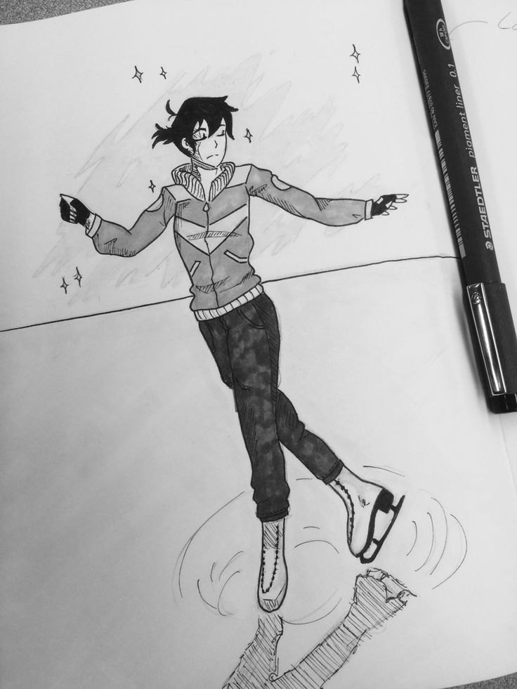 """""""He pushed open the doors to the rink, skates slung over his shoulder. Keith is skating lazy, circles in the middle of the ice, hands held out on either side of him, and it occurs to Lance that he's actually starting to look like a real..."""