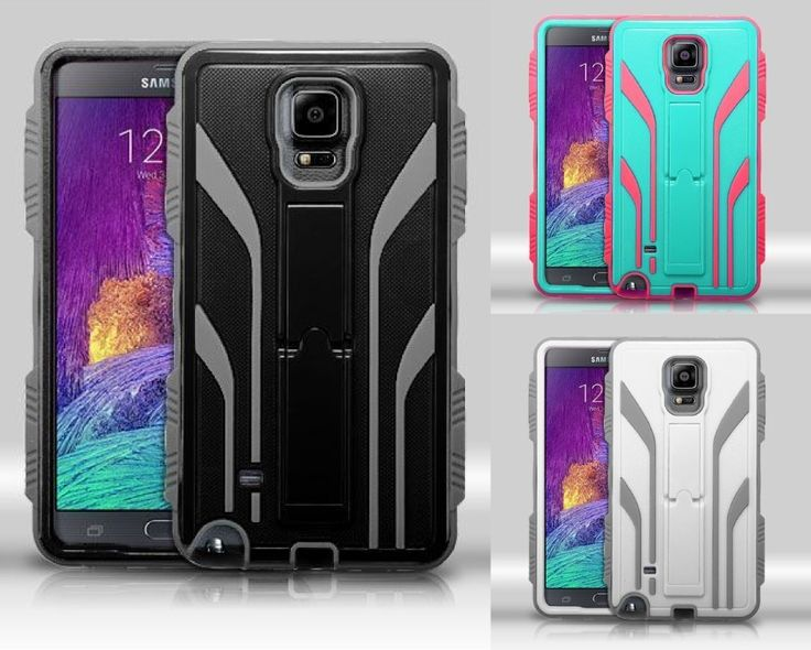 $7 for a Samsung Galaxy Note 4 Extreme Tuff Case, Choose from Multiple Colours!