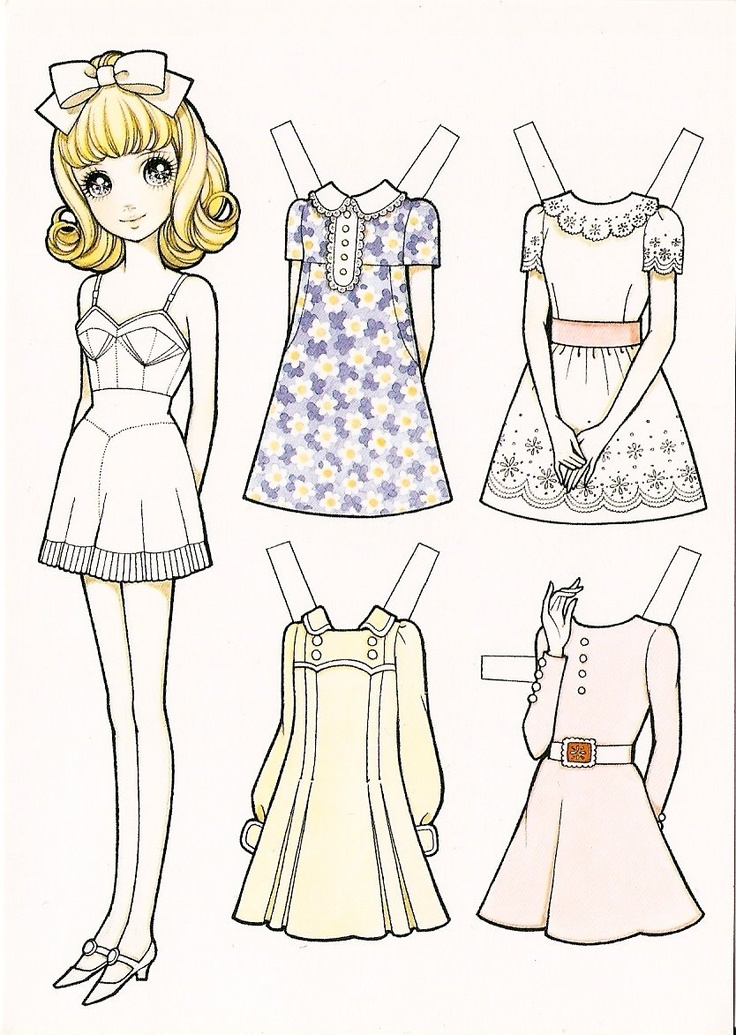 12 best paper doll images on Pinterest | Paper dolls ...