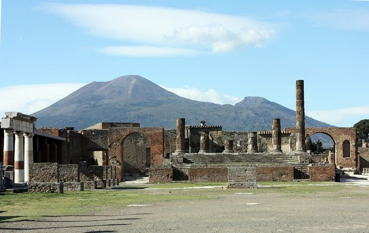 Pompeii, Vesuvius from user ilcas7