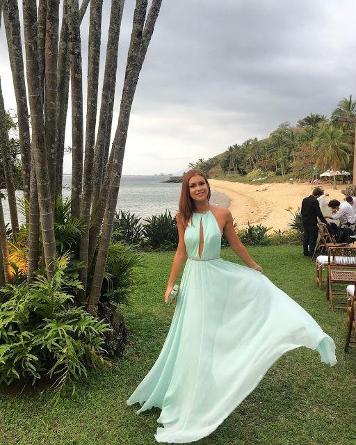 10 vestidos para madrinhas de casamento na praia e dicas para não errar no look - Madrinhas de casamento
