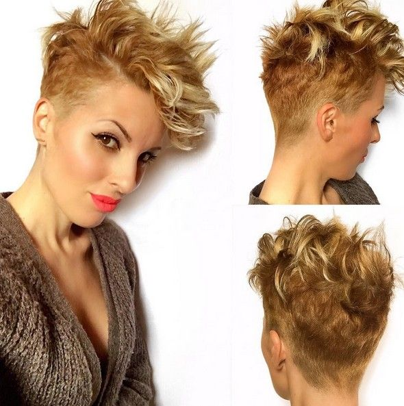 Chic Short Haircuts for Fine Hair - Brown and Blonde Balayage Hairstyles