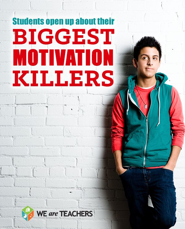 A great blog post where students name their biggest motivation killers, so you can learn how to work through them!