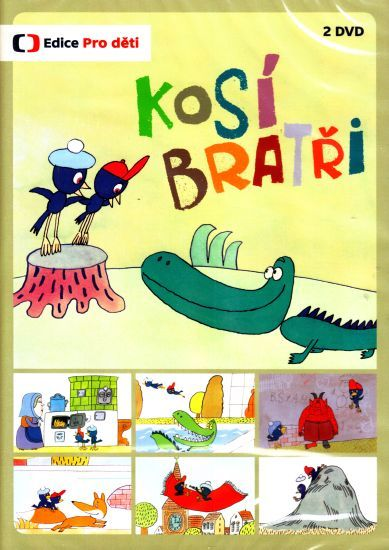 Večerníček České televize Kosí bratři na DVD.