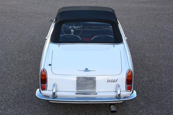 Fiat 1600 OSCA Cabriolet '64 'super originale'