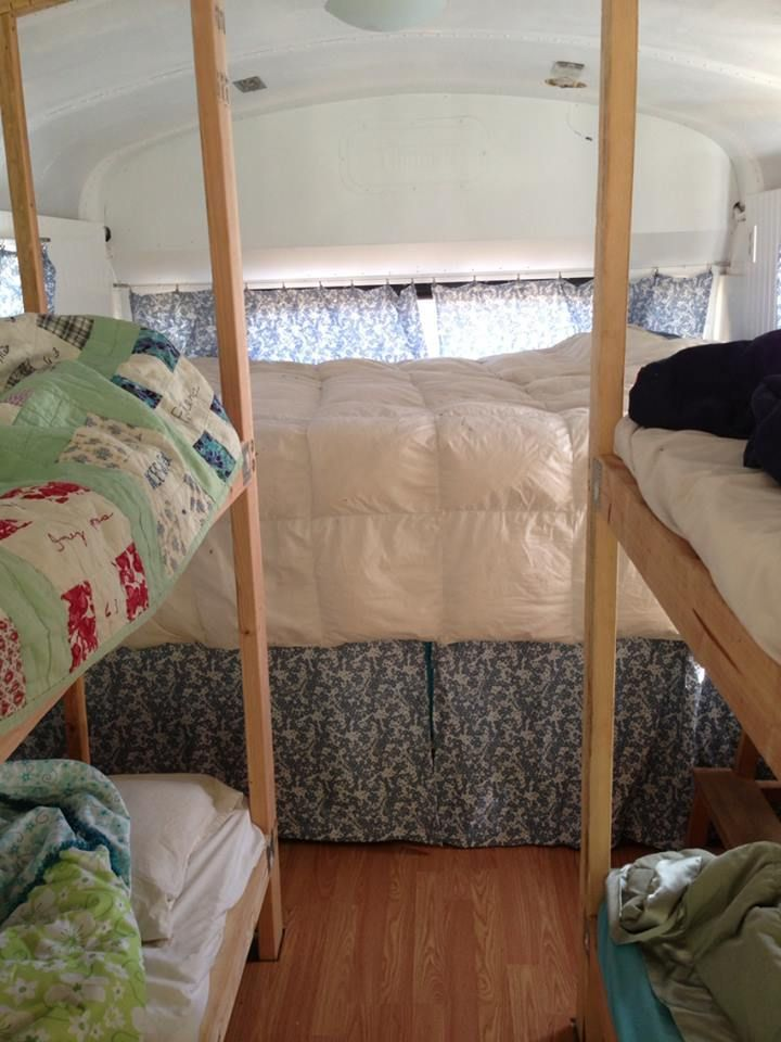 School bus conversion ideas big family small space for Tiny house family of 6