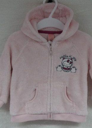 Kaufe meinen Artikel bei #Mamikreisel http://www.mamikreisel.de/kleidung-fur-madchen/outdoorbekleidung-jacken/33266270-hello-kitty-fleecejacke-gr-74