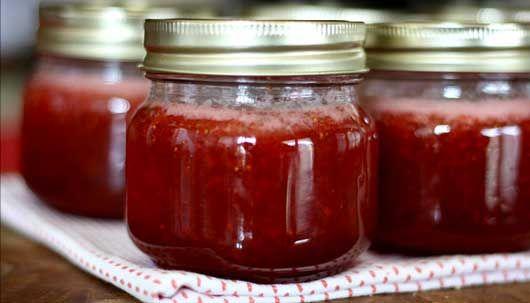 Recette confiture de fraises sans sucre