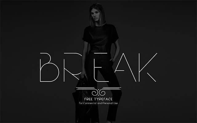 break-font
