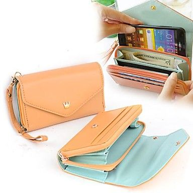 [XmasSale]Women's Hot Multifunction Women Wallet Wallets Coin Case Purse For iphone/Galaxy iphone 4/5 – USD $ 6.90