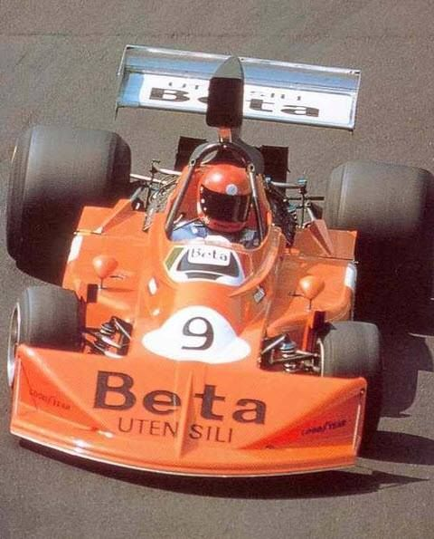 """Vittorio Brambilla, the """"Monza Gorilla"""". The only driver to win a GP while in the process of crashing. His victory lap was unique."""