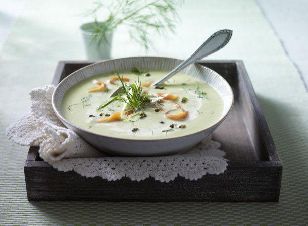 Unser beliebtes Rezept für Schmorgurken-Cremesuppe mit Lachs und mehr als 55.000 weitere kostenlose Rezepte auf LECKER.de.