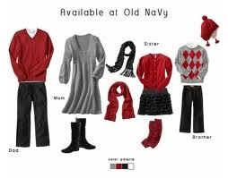 What to wear for holiday family pictures!