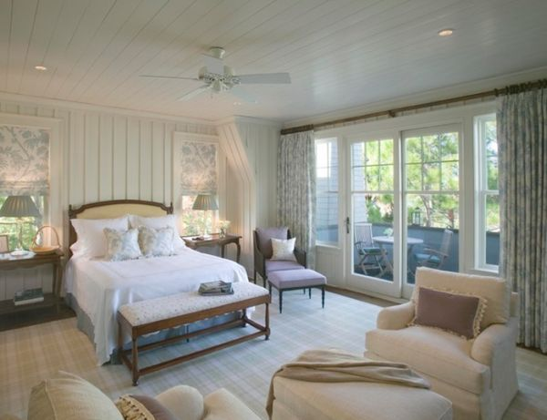 coastal cottage | traditional cottage bedroom design ideas