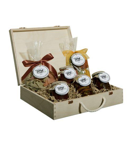 Gourmet Tomato Gift Basket - entire gift box