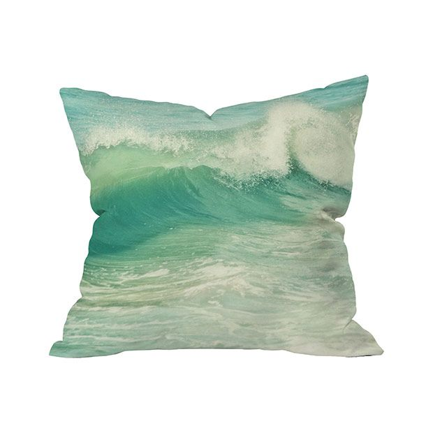 Even non-surfers may be tempted to catch this wave. The Hang Ten Outdoor Throw Pillow features a stunningly beautiful photographic image of a wave at high tide. Imagine it crashing on shore, accompanie...  Find the Hang Ten Outdoor Throw Pillow, as seen in the Outdoor Pillow Sale  Collection at http://dotandbo.com/collections/outdoor-pillow-sale-2016?utm_source=pinterest&utm_medium=organic&db_sku=105577